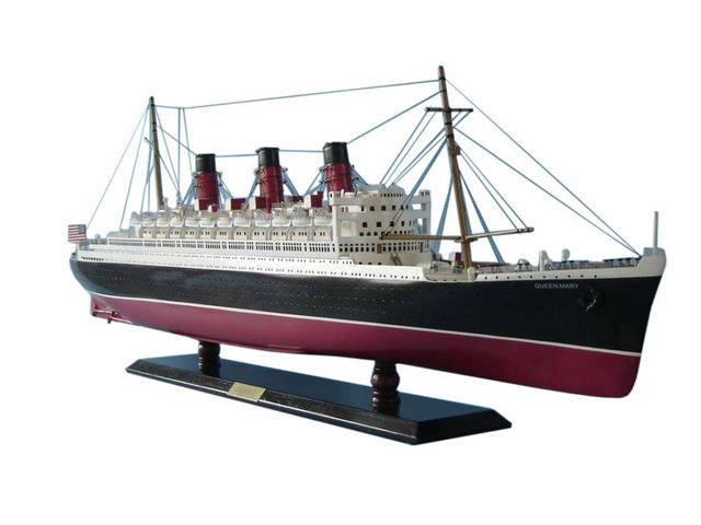 Queen Mary Limited Model Cruise Ship 40