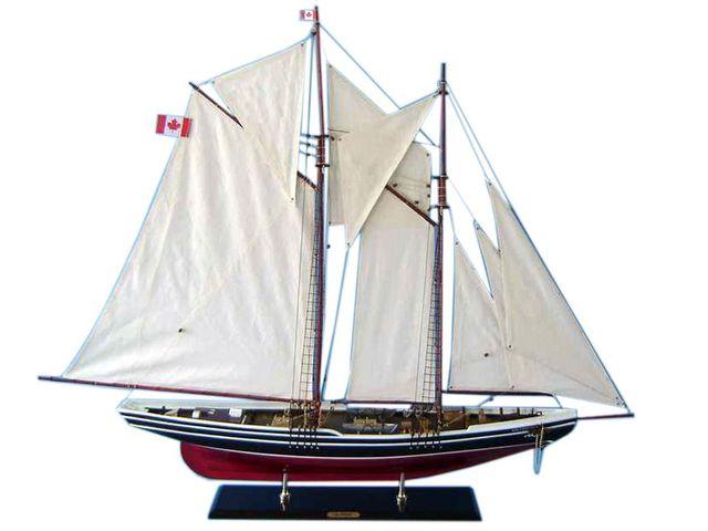 Wooden Bluenose Limited Model Sailboat 50
