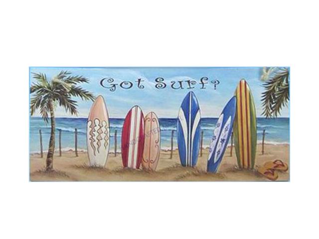 Wooden Got Surf? Nautical Wall Plaque 16