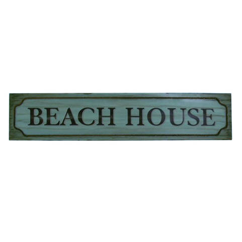 Wooden Beach House Wall Plaque 48