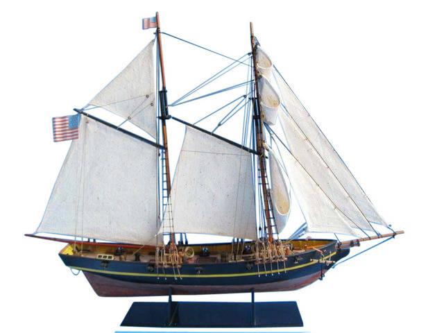 Wooden Dapper Tom Model Ship 24