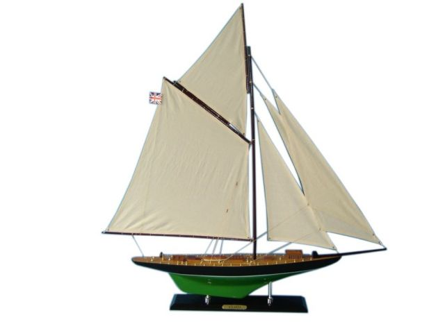 Wooden Atlanta Limited Model Sailboat Decoration 35