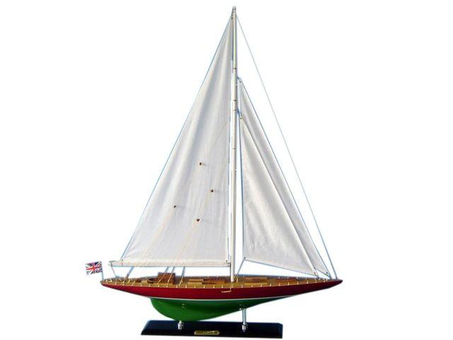 Wooden Endeavour 2 Limited Model Sailboat Decoration 35