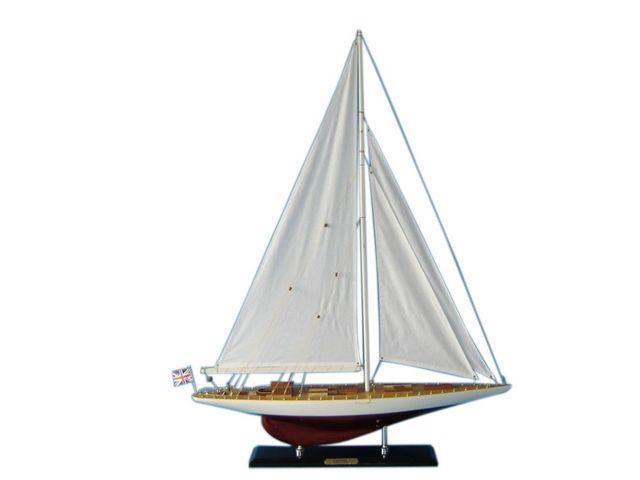 Wooden Gretel Limited Model Sailboat Decoration 35