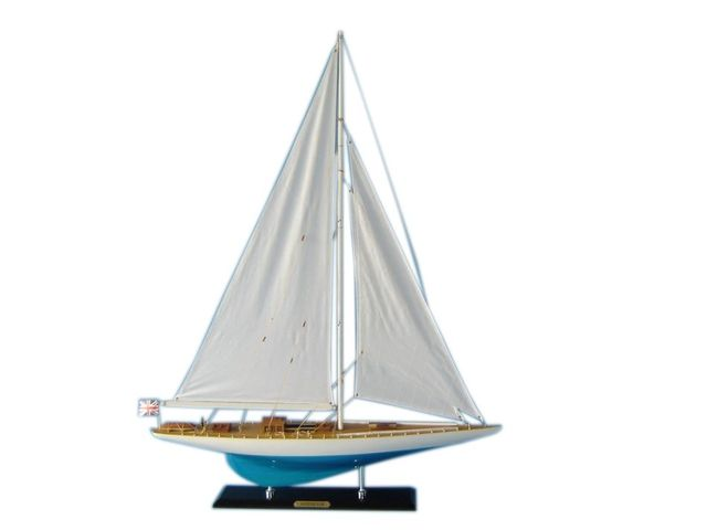 Wooden Sovereign Limited Model Sailboat Decoration 35