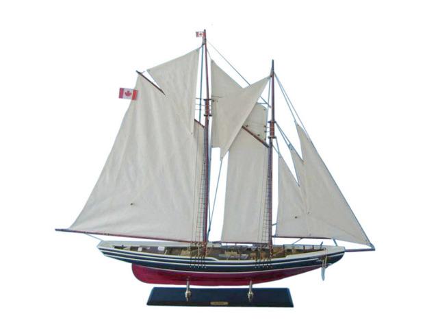 Wooden Bluenose 2 Limited Model Sailboat Decoration 50