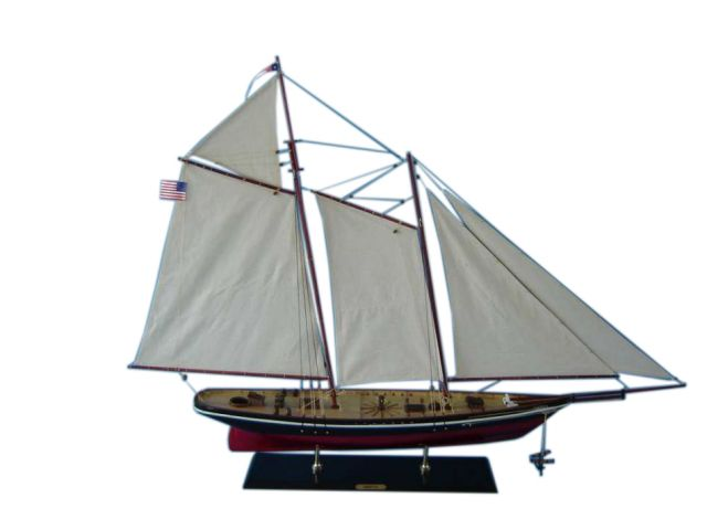 Wooden America Model Sailboat Decoration 50 Limited