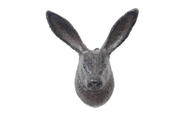 Cast Iron Decorative Rabbit Hook 5
