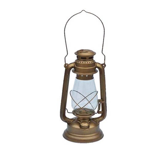 Antique Brass Hurricane Lantern 19