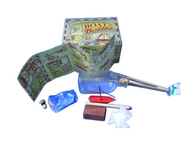Ship-Boat In a Bottle Kit