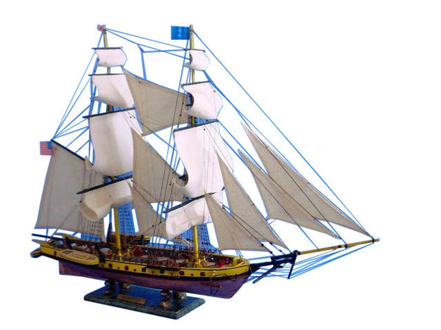 Wooden Brig Niagara Limited Tall Model Ship 36
