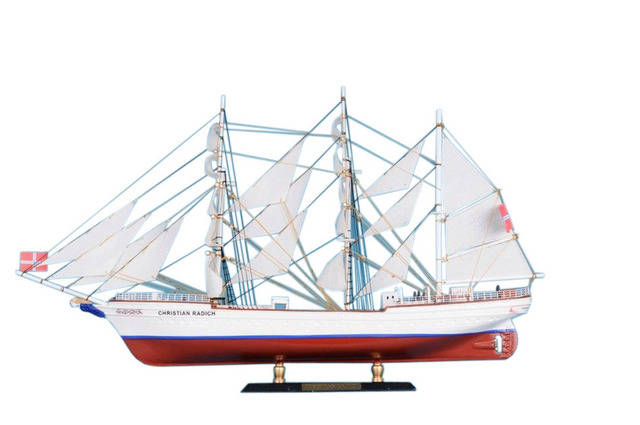 Christian Radich Limited Tall Model Ship 21
