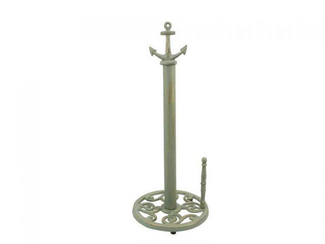 Seaworn Bronze Cast Iron Anchor Paper Towel Holder 16