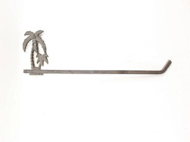 Cast Iron Palm Tree Wall Mounted Paper Towel Holder 17