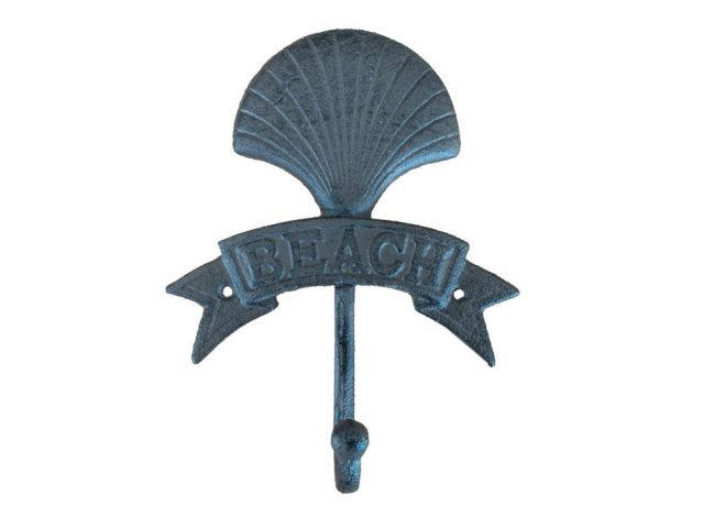 Cast Iron Seashell Beach Hook 8