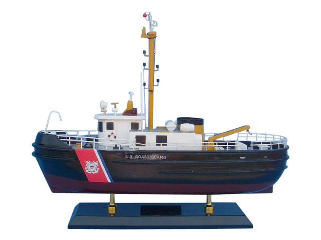 United States Coast Guard USCG Harbor Tug Model Boat 16