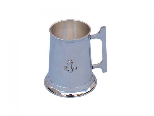 Chome Anchor Mug With Cleat Handle 5