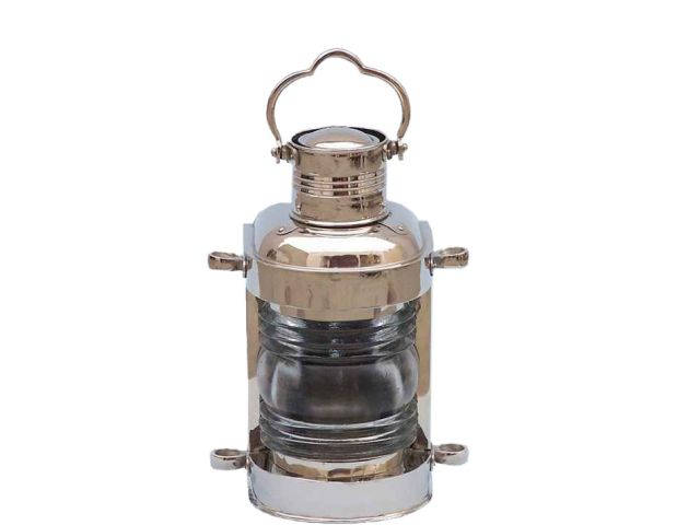 Chrome Masthead Oil Lamp 14