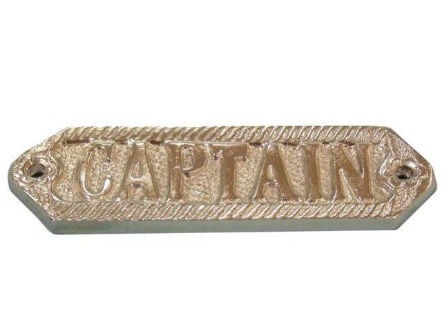 Chrome Captain Sign 6