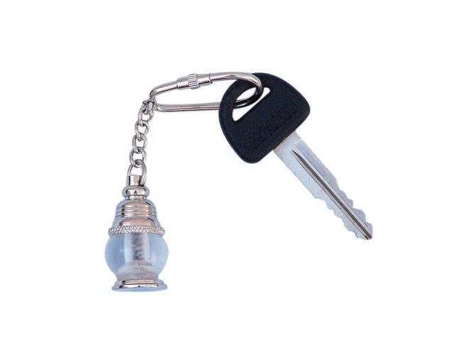 Chrome Oil Lamp Key Chain 5
