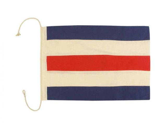 Letter C Cloth Nautical Alphabet Flag Decoration 20