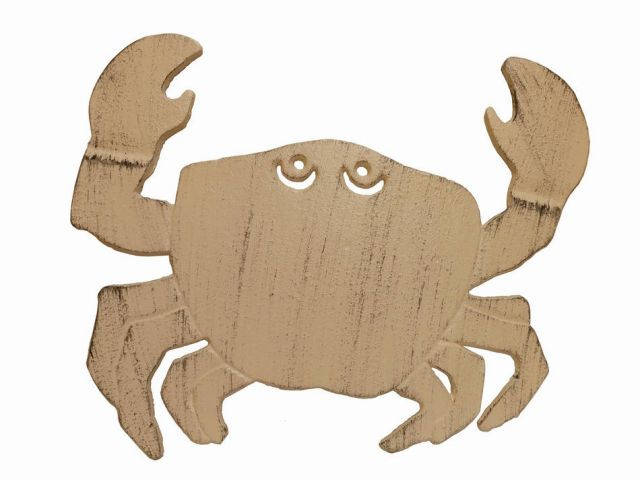 Aged White Cast Iron Crab Trivet 11