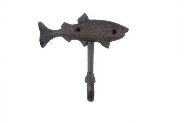 Cast Iron Fish Key Hook 6