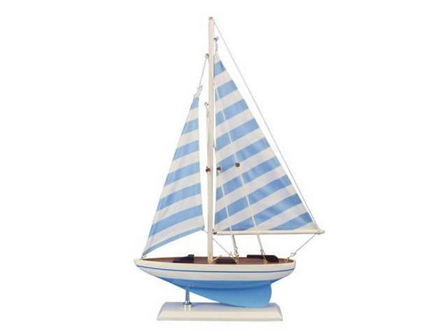 Wooden Anchors Aweigh Model Sailboat 17