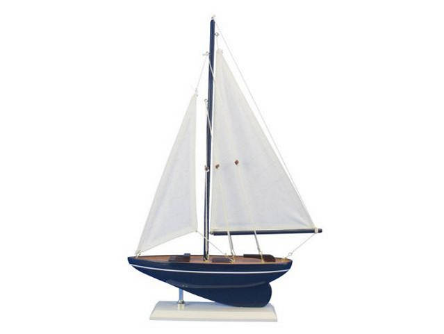 Wooden Gone Sailing Model Sailboat 17
