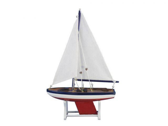 Wooden It Floats 12 - American Floating Sailboat Model