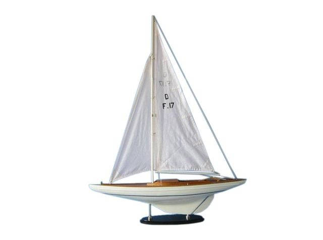 Wooden Waverunner Dragon Keelboat Model Decoration 40