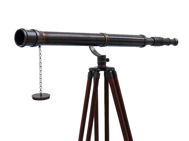 Floor Standing Oil Rubbed Bronze Galileo Telescope 65