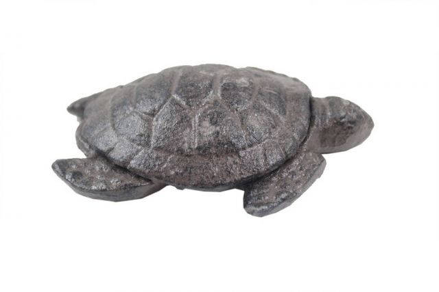 Cast Iron Decorative Turtle Paperweight 4