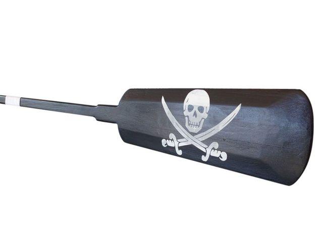 Wooden Calico Jacks Decorative Pirate Rowing Boat Oar 62