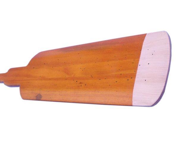 Wooden Hamilton Squared Decorative Rowing Boat Oar w- Hooks 36