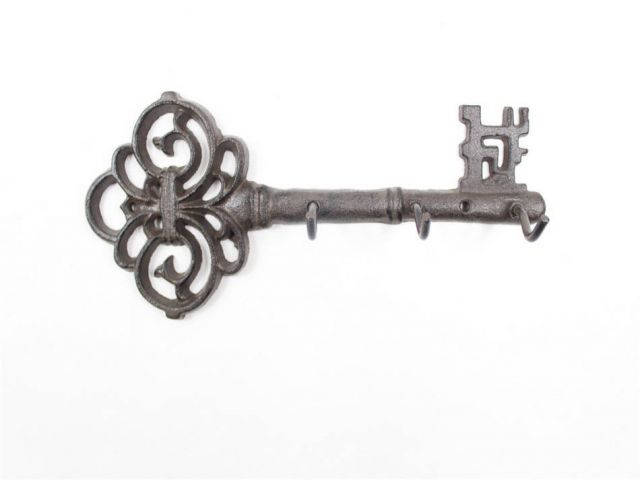Cast Iron Vintage Key Wall Mounted Key Hooks 11
