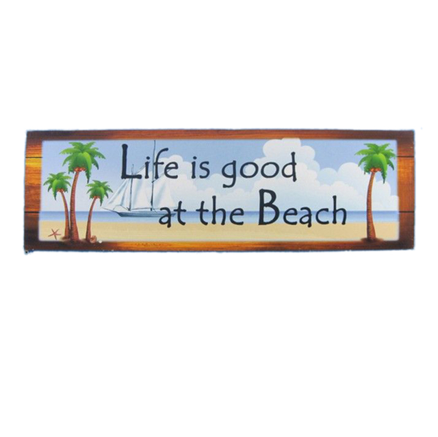 Life Is Good At the Beach Wall Sign 24