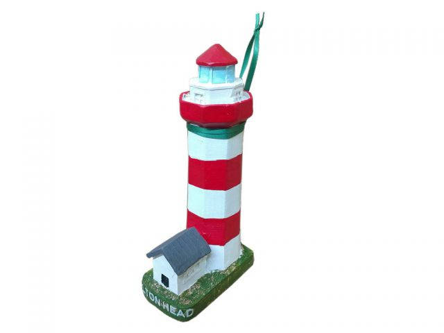 Hilton Head Lighthouse Christmas Ornament 8