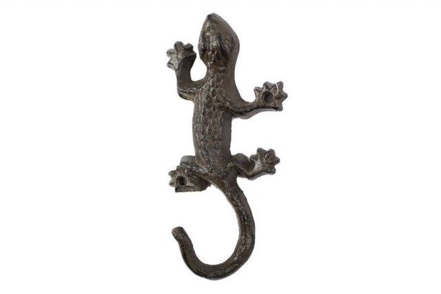 Cast Iron Lizard Hook 6
