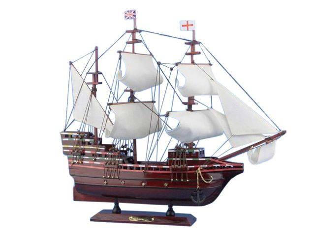 Wooden Mayflower Tall Model Ship 20