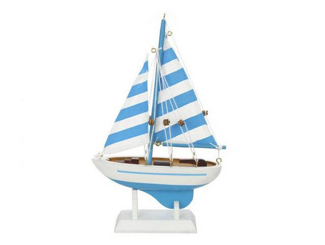 Wooden Anchors Aweigh Model Sailboat 9