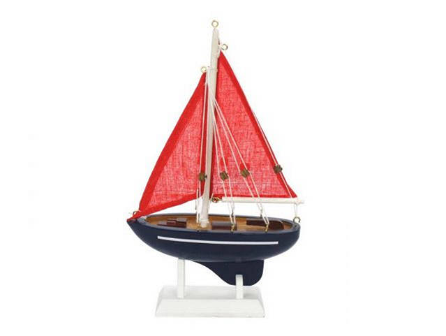 Wooden American Paradise Model Sailboat 9