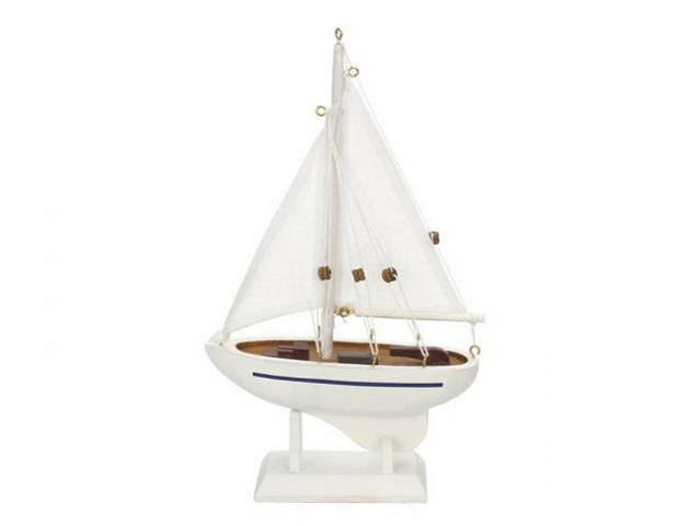 Wooden Seas the Day Model Sailboat 9