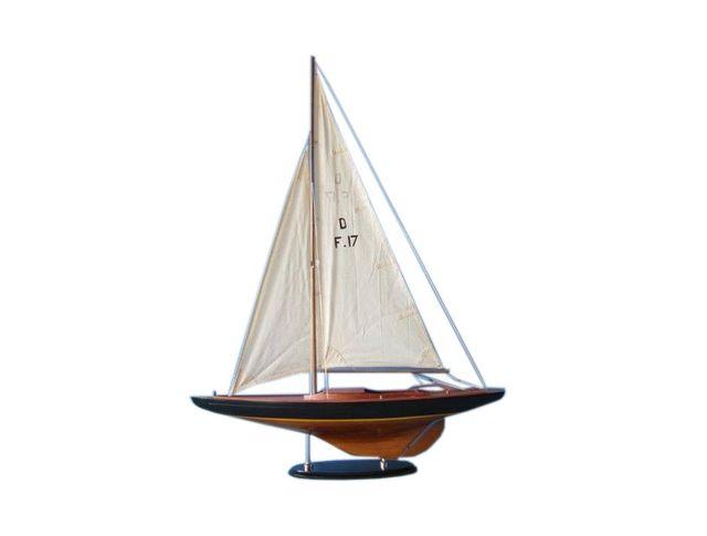 Wooden Sea Spirit Dragon Keelboat Decoration 40