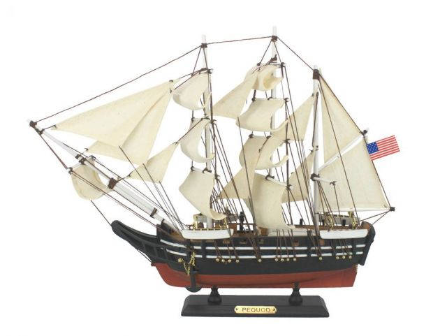 Wooden Moby Dick - Pequod Model Whaling Boat 15