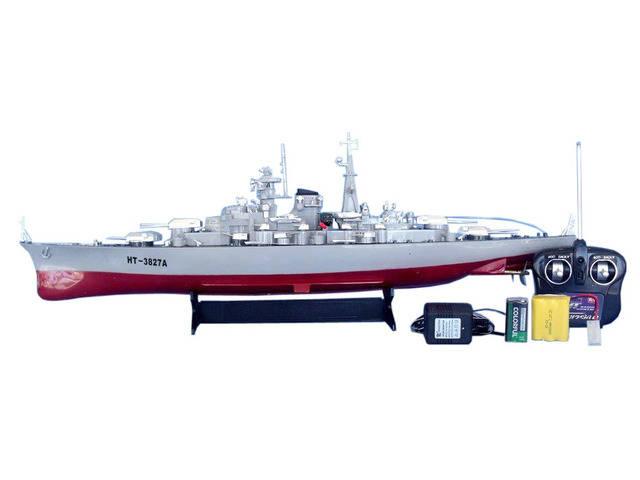Ready To Run Military Remote Control Model Battleship 28