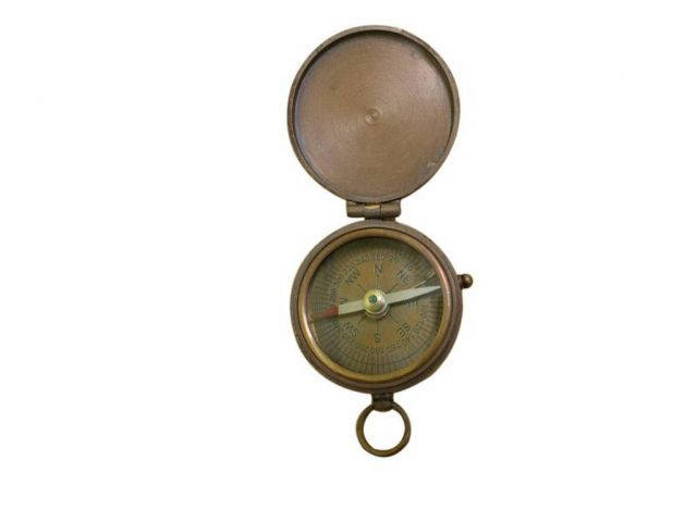 Antique Copper Magellan Compass 3