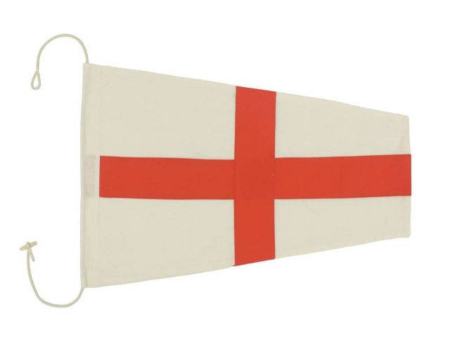 Number 8 - Nautical Cloth Signal Pennant Decoration 20