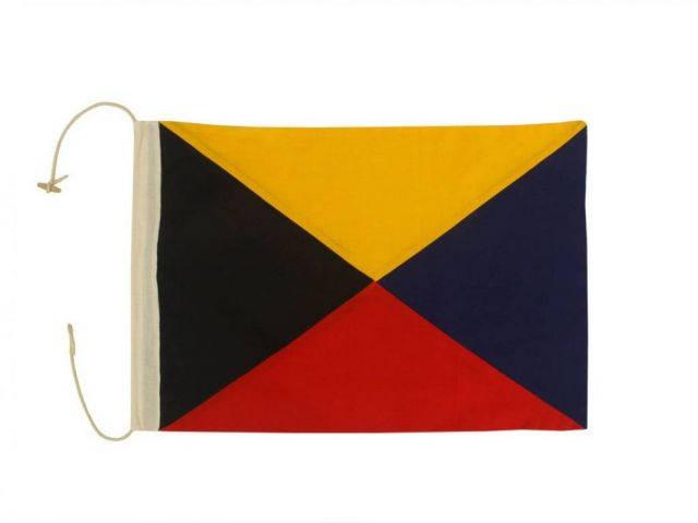 Letter Z Cloth Nautical Alphabet Flag Decoration 20