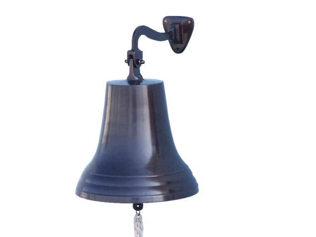 Bronze Hanging Ships Bell 18
